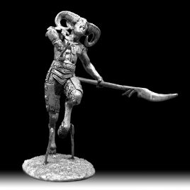 Сатир фэнтези статуэтка