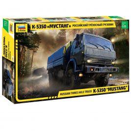Сборная модель Трехосный грузовик К-5350 Мустанг