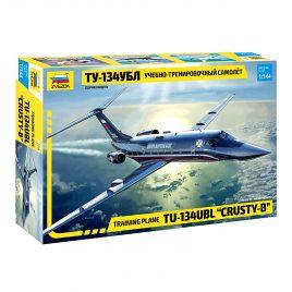 Сборная модель Учебно-тренировочный самолёт ТУ-134УБЛ
