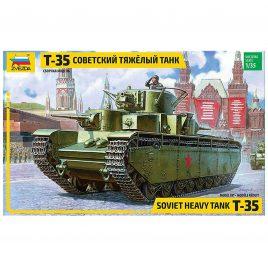 Масштабная модель Советский тяжелый танк Т-35