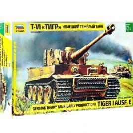 Стендовая модель Немецкий тяжелый танк Тигр