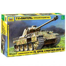 Сборная модель Немецкий средний танк Пантера