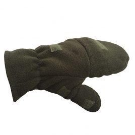 Перчатки-варежки флис Олива
